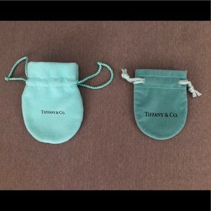 2 Tiffany & Co. Mini Dust Bags